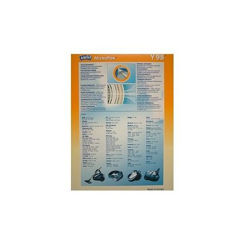 MICRO STAUBSAUGERBEUTEL 4ER SWIRL AFK CLATRONIC SMC TYP Y98 - 1